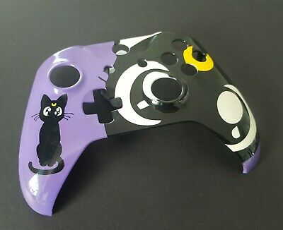 Custom Mystic Cat Xbox One Painted Controller Housing Shell Replacement Front