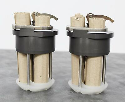 Lot Of 2 Sp Scientific 70-1282 Ase Tube Pucks For Genevac Rocket Synergy