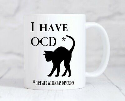 Cat Lady Gift Funny Birthday Present For Best Friend Wife Mum Animal Coffee