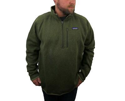 New Patagonia Men's Better Sweater Jacket XXL 1/4 Zip Green Sage Khaki