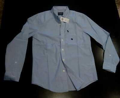 Camisa Abercrombie & Fitch S azul Oxford popelin nueva RRP 74€