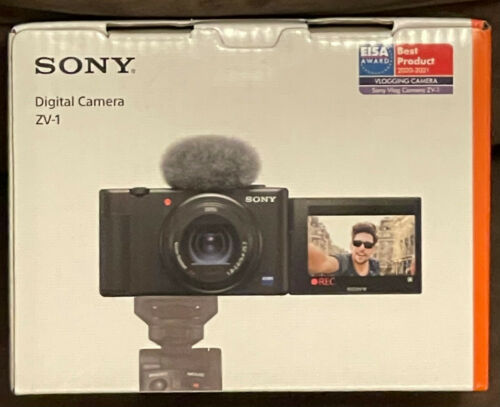 Sony ZV-1 20.1 MP Digital Camera for Content Creators, Vloggers, YouTube DCZV1/B