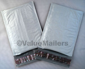 500 #000 4x8 Poly Bubble Mailers Envelopes Bags (VM Brand) 4 1/8