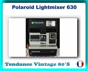 appareil photo polaroid lightmixer 630 obturateur electr fonctionne ebay. Black Bedroom Furniture Sets. Home Design Ideas