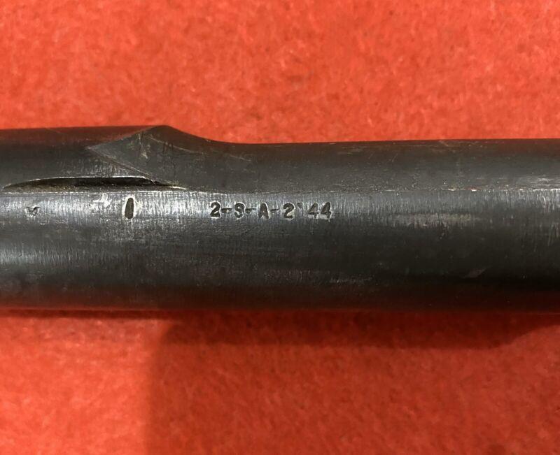 Original WW2 Springfield M1 Garand Barrel—2/44
