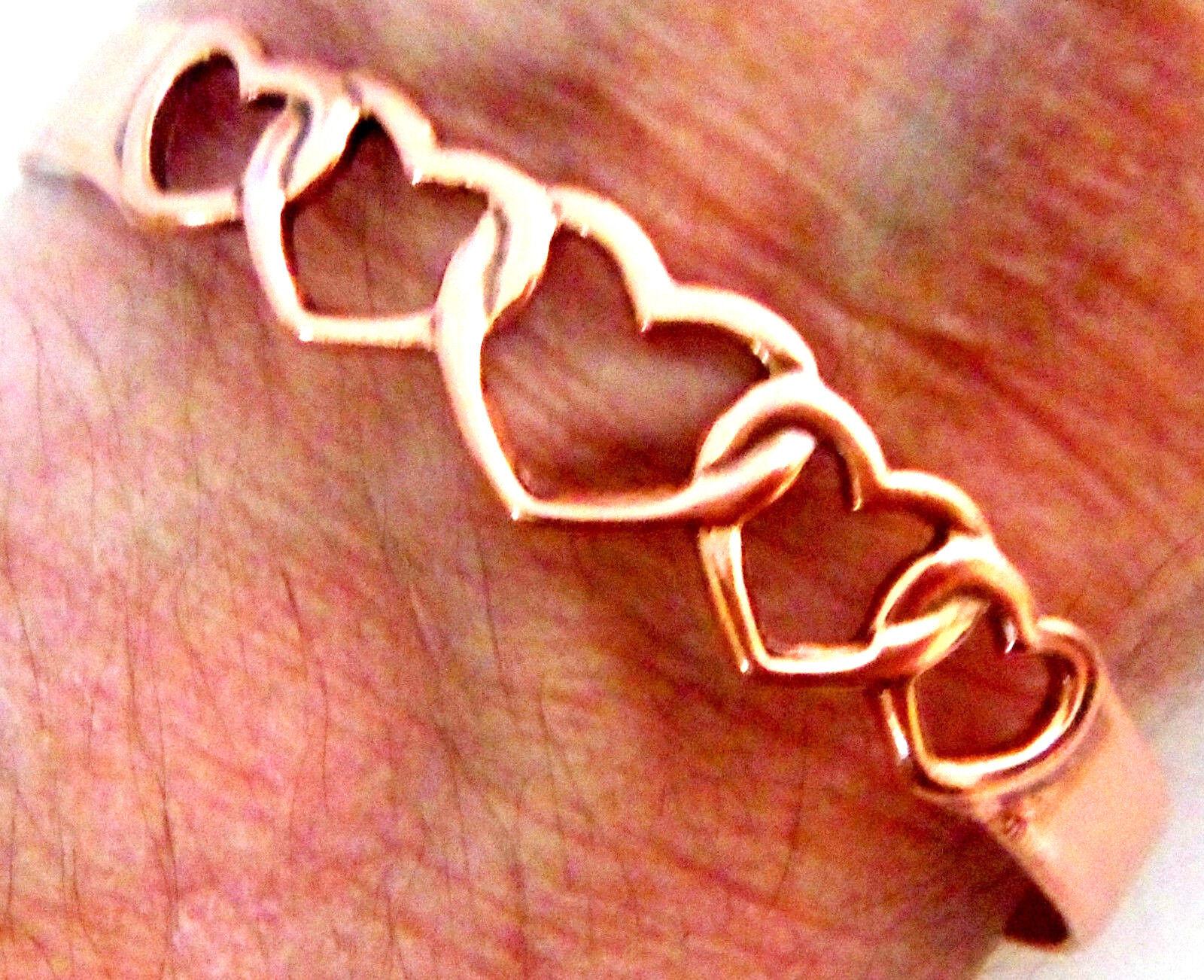 Copper Cuff Bracelet Wheeler Arthritic Healing Detox Sciatica Folklore cb 164