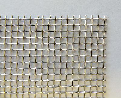 Drahtgewebe, Gitter, Gewebe,W 2 mm,D 0,56 mm,Brt.1000 mm,1.4401, 32,50 Euro/lfdm