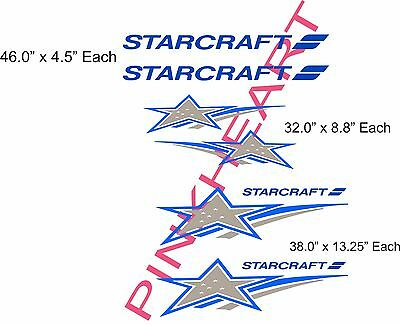 Starcraft kit Decals RV sticker decal graphics trailer camper rv any color  USA