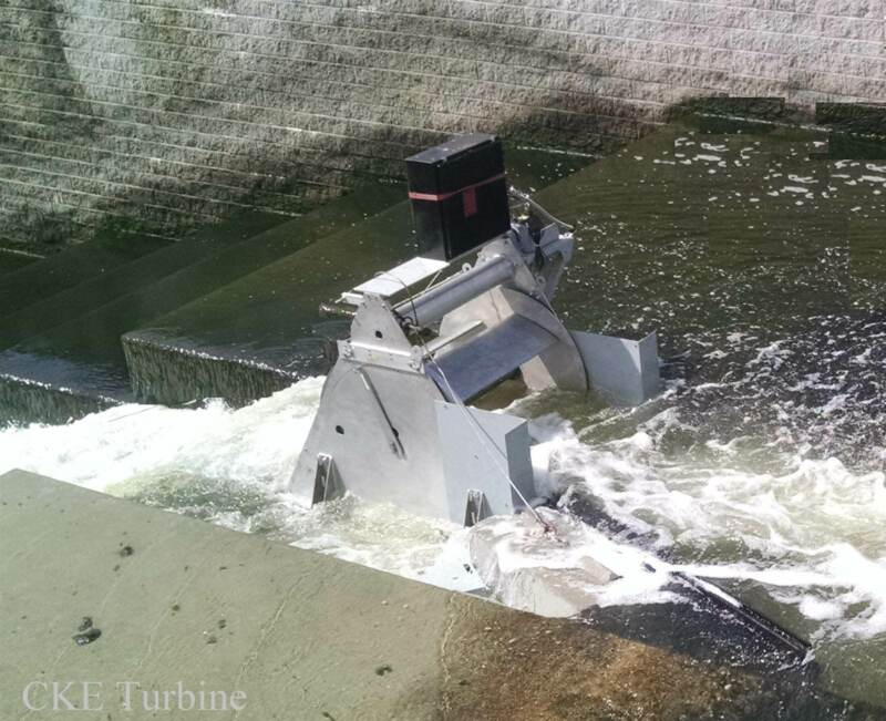 Hydroelectric Turbine Hi-Efficiency for Tide, Shallow River, Industrial Run-off