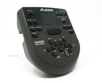 Alesis Surge Drum Module with Power Supply / Wiring Harness / Mount