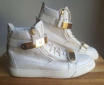 Giuseppe Zanotti High Top Sneakers Mens Size 45