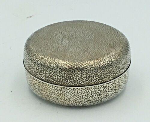 Fine Japanese Meiji - Taisho Sterling Silver Box