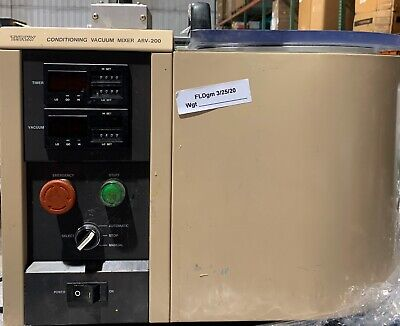 Used Thinky Conditioning Vacuum Mixer Arv-200