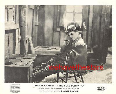 Vintage Charlie Chaplin THE GOLD RUSH British FOH Still