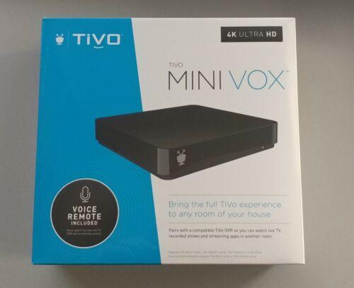 BRAND NEW ~ TiVo MINI VOX ~ Lifetime Service ~ 4K UHD ~ TCDA95000 ~ Voice Remote