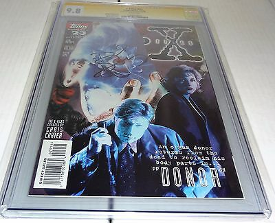 X-Files #23 CGC SS 9.8 Signature Autograph DAVID DUCHOVNY Signed Topps Comics 🔥