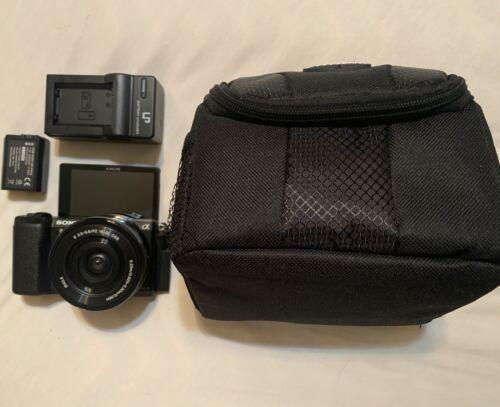 Sony Alpha A5100 24.3MP Digital Camera - Black Kit With 16-50mm Power Zoom... - $360.01