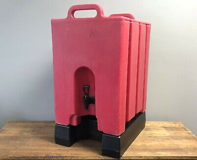 Cambro 1000l 10 Gallon Insulated Beverage Dispenser Container Hot Cold Carrier