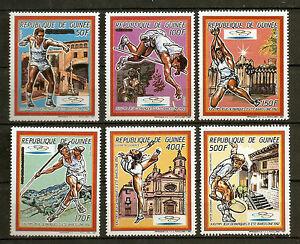 Guinea-1987-Olympic-Games-Barcelona-92-MNH