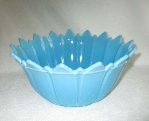 VINTAGE [ Opaque Turquoise Blue Bowl ] RARE
