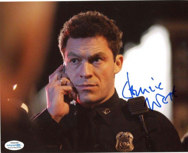 "Dominic West ""The Wire"" AUTOGRAPH Signed 8x10 Photo D ACOA"