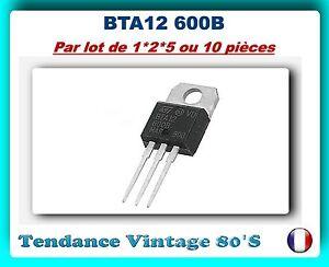 LOT-DE-1-2-5-OU-10-BTA12-600B-TRIAC-12A-600-V-TO220