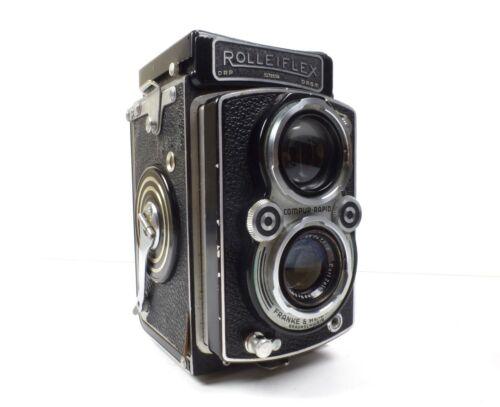 Rollei Rolleiflex Automat Model 3 Carl Zeiss Tessar 1:3.5 f=7.5cm TLR Camera