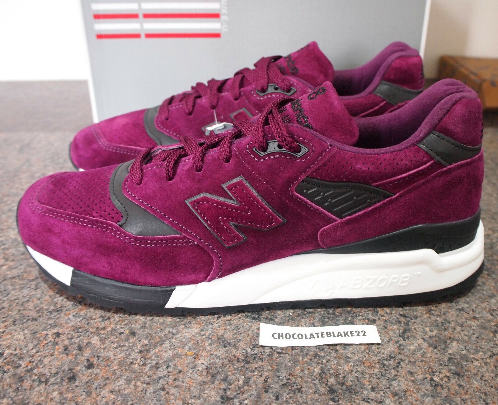 New Balance M998CM UK 9 998 992 990 Made In the USA