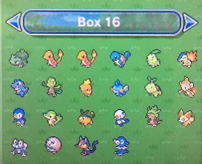 Pokemon Sun Moon all Shiny Starter Pokemon 6IV Guide with Golden Bottle Caps
