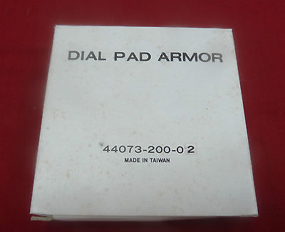 New Western Electric AT&T Dial Pad Armor Payphone Pay Phone Bell Bezel Buttons - Phone Dial Pad