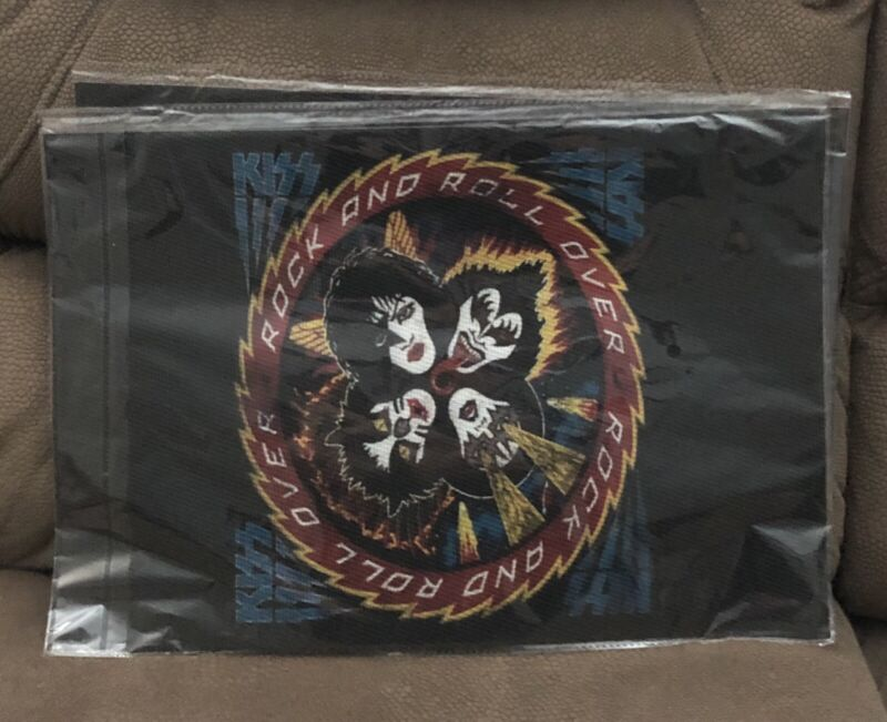 Kiss Rock & Roll Over Placemats Set of 4 New and still in Shrink!