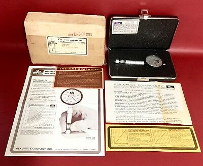Rex Durometer Model 1600 Type A Hardness Tester