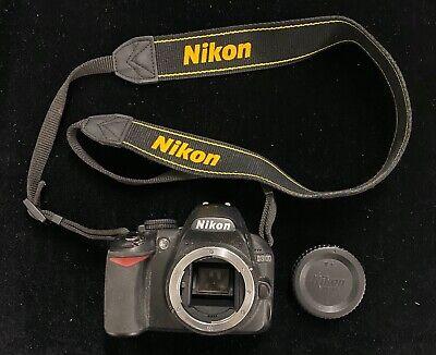 Nikon D3100 14.2MP DSLR Digital Camera Body Only with Battery & Strap