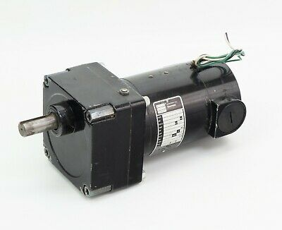 Bodine Electric Motor 32d3bepm-w4 112 Hp 8 Rpm 1ph 130 Volt Dc 4147