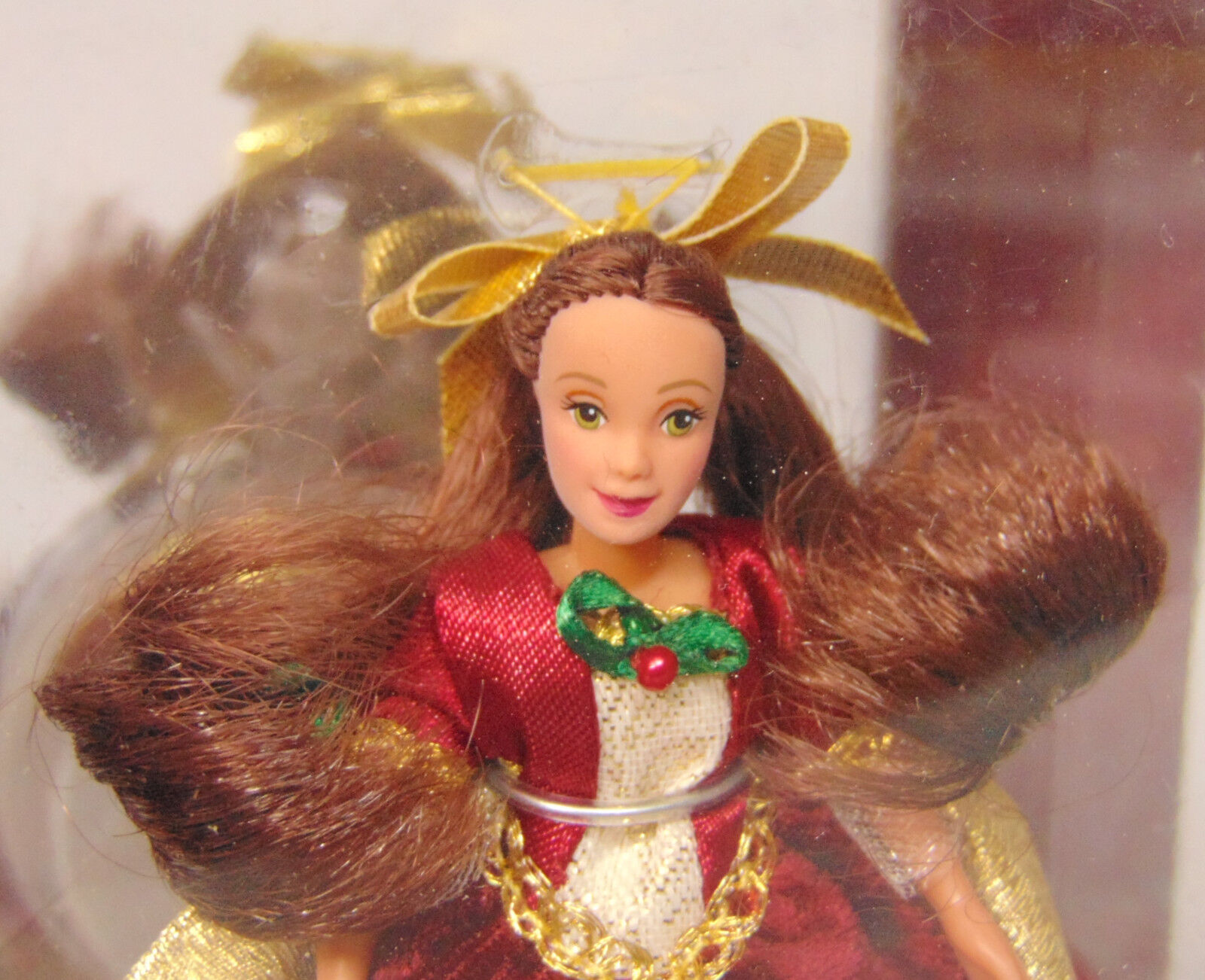 Belle ornament disney - Disney Princess Beauty The Beast Belle Petite Holiday Doll Ornament Jingles