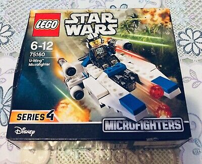 Lego Star Wars U-Wing Microfighter Series 4  6-12 (75160) Brand New/Unopened