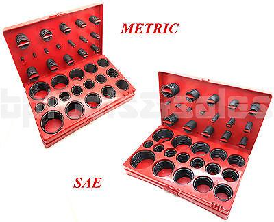 826 Pc. O-ring Assortment Set Plumbing Metric Sae Seal Rubber Gasket Tool Kit