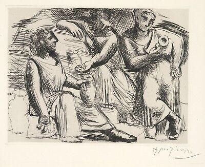 Pablo Picasso Reproduction: Le Source: Three Women at Fountain. Fine Art Print