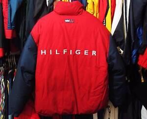 Very rare vintage Tommy Hilfiger reversible puffer jacket medium Brisbane City Brisbane North West Preview
