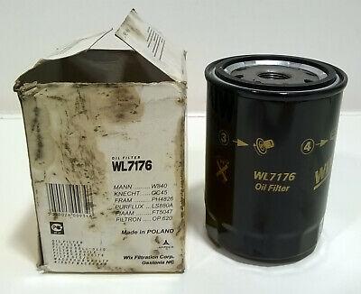 Wix WL7176 OIL FILTER CITROEN PEUGEOT TALBOT PETROL & DIESELS AS LISTED
