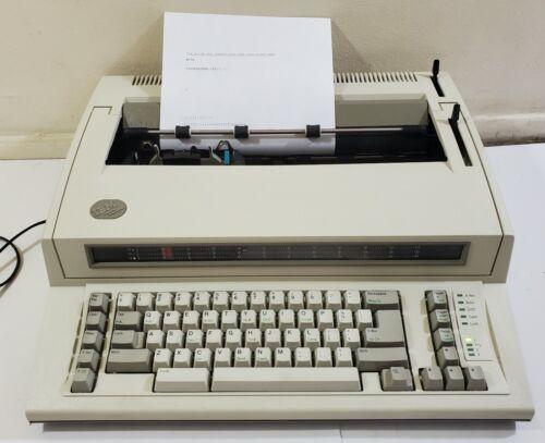 Vintage IBM Personal Wheelwriter Model 6781 Electronic Typewriter