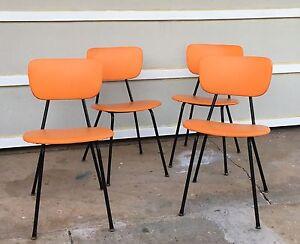Retro orange chairs Carey Bay Lake Macquarie Area Preview