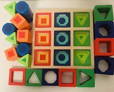 MELISSA & DOUG Shape Sequence Sorting Set | eBay