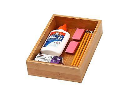 Ybm Home Kitchen Bamboo Drawer Organizer Box 69 325