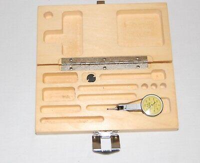 Brown Sharpe Dial Test Indicator Vertical 0.002 0-0.2mm Range Bestest 7032-13