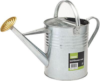 Draper Large Traditional Garden Watering Can Galvanised Steel Metal (9 Litre)