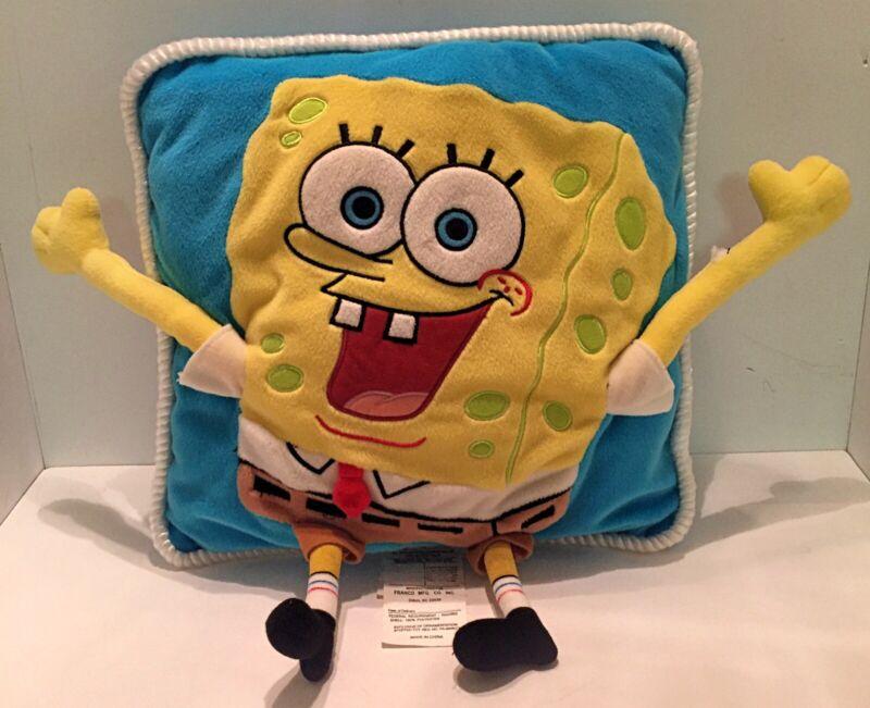 """Vintage 14"""" SpongeBob Square Pants Pillow"""