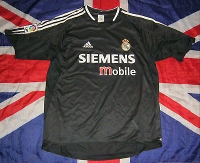 4f9f19c881f Real Madrid Spain Away Football Shirt Jersey Adidas 2004 - 2005 Size L