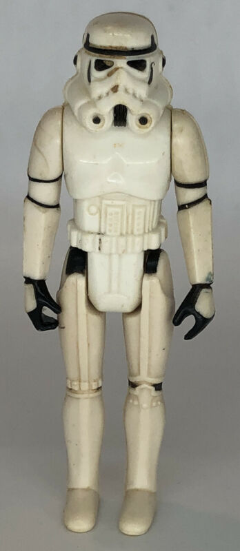 1977 Vintage Kenner Star Wars Imperial Stormtrooper Action Figure No COO