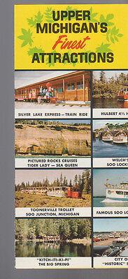Upper Michigan's Finest Attractions Brochure 1960s